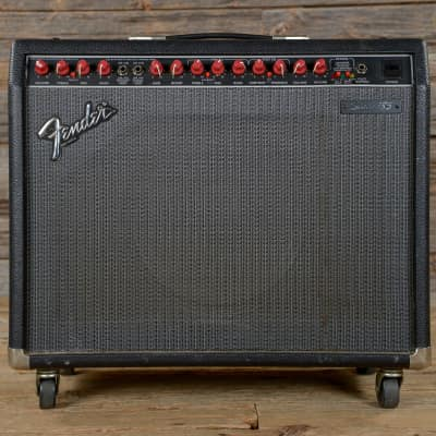 "Fender	Stage 185 2-Channel 150-Watt 1x12"" Solid State Guitar Combo	1988 - 1992"