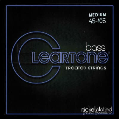 Cleartone 6445 Medium Gauge 45-105 Bass Strings