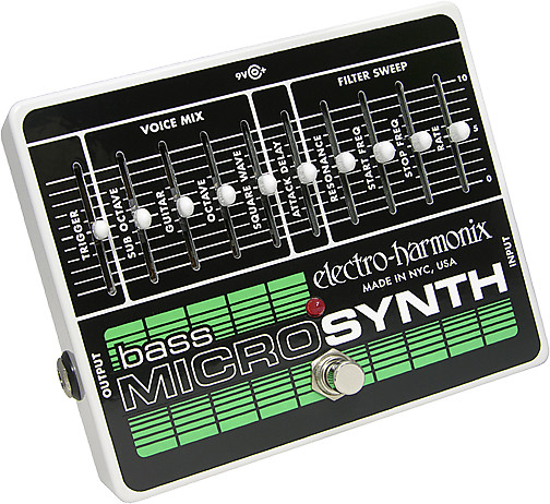 electroharmonix bass micro microsynth analog bass synthesizer reverb. Black Bedroom Furniture Sets. Home Design Ideas