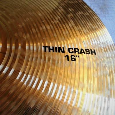 "Paiste  ""Alpha""  Thin-Crash 16"""