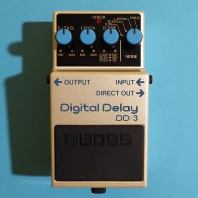 Boss DD-3 Digital Delay 2014 near mint w/box