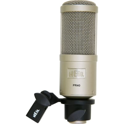 Heil Sound PR40 Dynamic Professional Broadcast/Instrument Microphone  2-Day Delivery