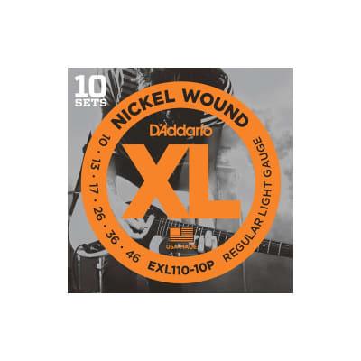D´Addario EXL110-10P 10-46 Electric Strings 10 Set