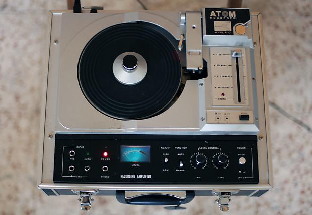 Record Cutting Machine Lathe Atom A 101 Vanrock E 101