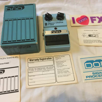 DOD Stereo Chorus FX60 Pedal for sale
