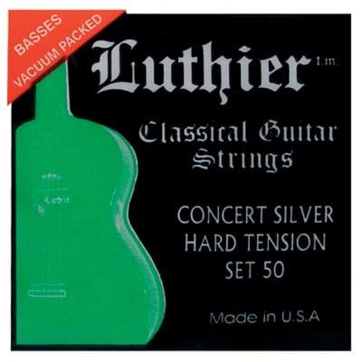 Luthier Set 50 Concert Silver Hard Tension