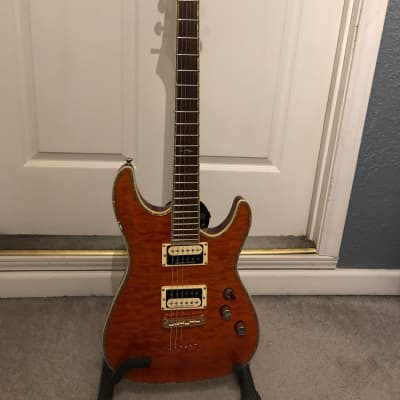 Schecter C-1 Elite w/h Seymour Duncan JB and Jazz for sale