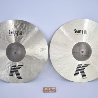"Zildjian 15"" K Series Sweet Hi-Hat Cymbals (Pair)"