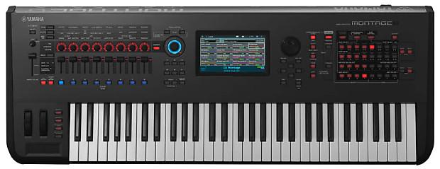 yamaha montage 6 synthesizer kraft music reverb. Black Bedroom Furniture Sets. Home Design Ideas