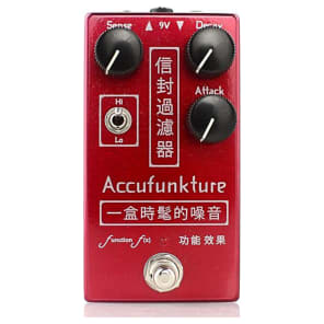 Function-f(x) Accufunkture Auto-Wah Envelope Filter Pedal