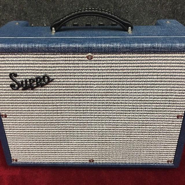 Supro 1642RT Titan 50 Watt 1/10 Tube Amp Combo Guitar Amplifier Retro Reissue image