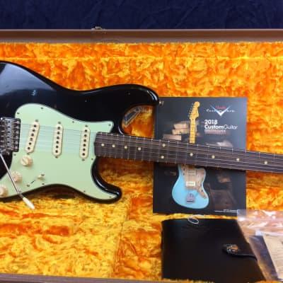 Fender Custom Shop 60 Stratocaster Journeyman Relic in Black Rosewood Fretboard for sale