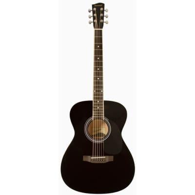 Savannah SGO-12-BK 000-Style Acoustic Guitar, Black for sale