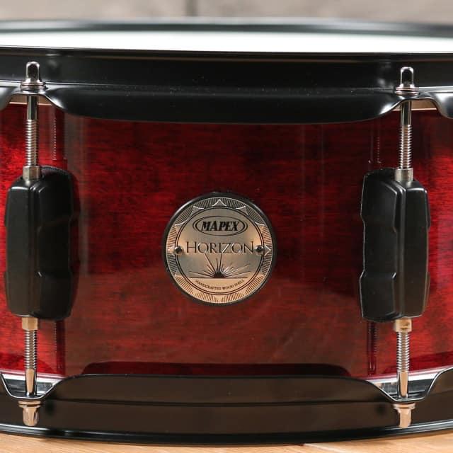 Mapex Horizon 14x5 Snare Drum Wine Red image