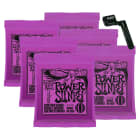 Ernie Ball 2220 Power Slinky Electric String 6-Pack image