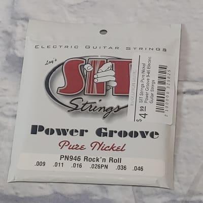 SIT Strings Pure Nickel Power Groove 9-46 Electric Guitar Strings