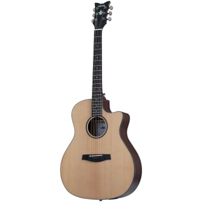 Schecter Orleans Studio Acoustic Natural Satin NS B-Stock Acoustic-Electric Guitar for sale