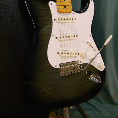 Fender Stratocaster  1993 Trans-Black Foto Flame for sale