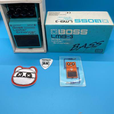 Boss LMB-3 Bass Limiter Enhancer w/Original Box | Fast Shipping!