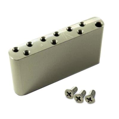 Kluson Milled Narrow Aluminum Sustain Block for Vintage Tremolo KNSBA for sale
