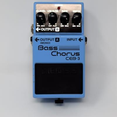 Boss CEB-3 Bass Chorus (Pink Label)
