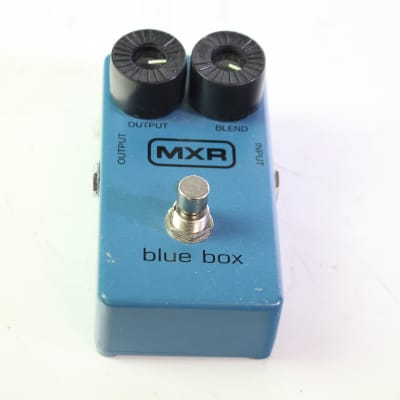 Used MXR BLUE BOX Guitar Effects Distortion/Overdrive