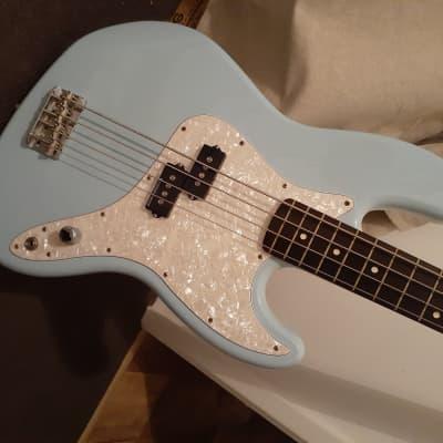 Fender Mark Hoppus Artist Series Jazz Bass 2005 Daphne Blue for sale