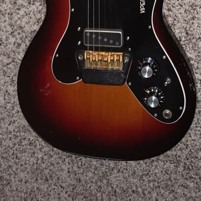 Vintage 1970's Ovation Viper electric guitar made in the USA 1970's for sale