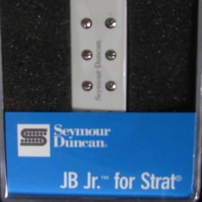 New Seymour Duncan SJBJ-1B JB Jr. for Strat Bridge White 11205-16-w