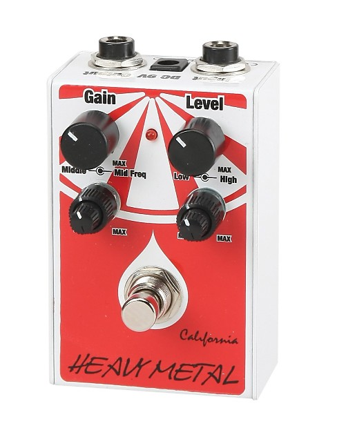 california heavy metal guitar effect pedal chm 1 reverb. Black Bedroom Furniture Sets. Home Design Ideas