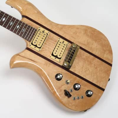 BC Rich Eagle 1980 Natural Rare Left Handed with Birdseye Maple for sale