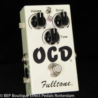 Fulltone OCD V1 Series 4 Obsessive Compulsive Drive s/n 38155, 2012 as used by Keith Richards