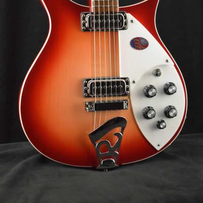 Rickenbacker 620 6-String Fireglo with Hardshell Case
