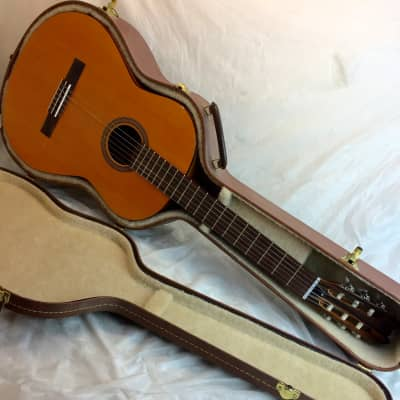 Vintage Kamouraska Andante Etude Solid Wood Classical Nylon Concert Guitar Made in Canada Pre-Godin for sale