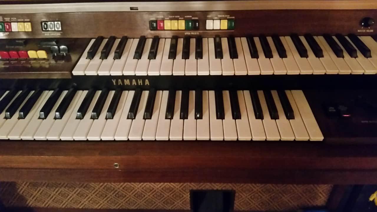 Vintage yamaha electone organ reverb for Yamaha electone organ models