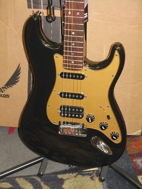 Fender American Deluxe Stratocaster Hss 2008 Montego Black