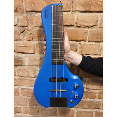 Travel Bass 4 strings with Preamp FingyBass by MihaDo