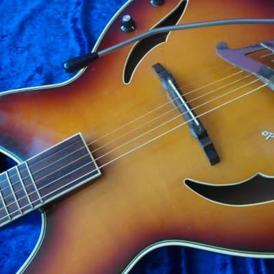 Herrnsdorf semi-acoustic guitar 60ies, East Germany for sale