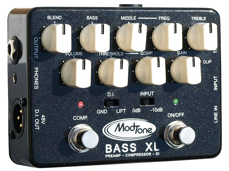 modtone bass xl preamp pedal mt bx comp di preamp xlr out reverb. Black Bedroom Furniture Sets. Home Design Ideas
