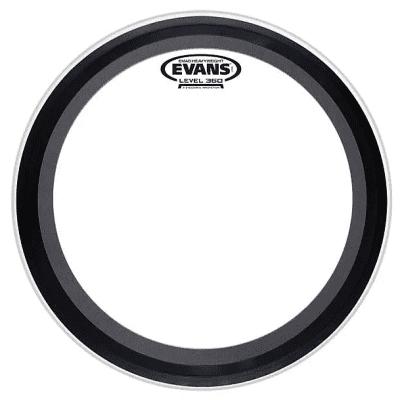 "Evans BD20EMADHW EMAD Heavyweight Clear Bass Drum Head - 20"""