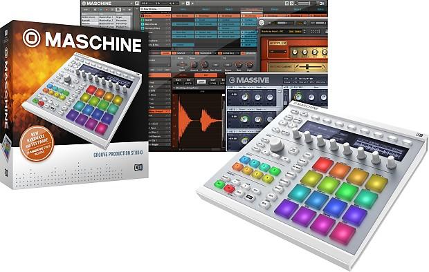 Native Instruments Maschine MK2 White Groove Production