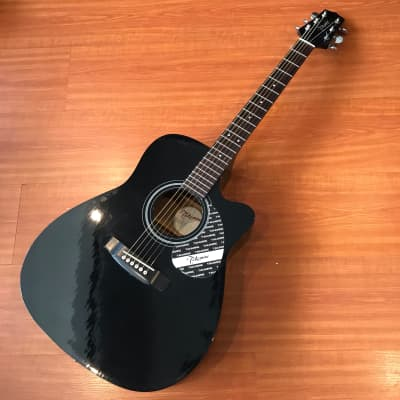 Takamine EG330GC Cutaway [Refurbished] Black Gloss Finish Acoustic Guitar