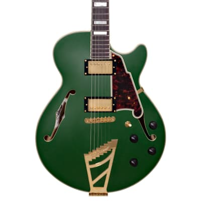 D'Angelico Deluxe SS Matte Emerald for sale