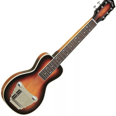 Gold Tone LS-6 Mahogany Top Maple Neck Solid Body 6-String Lap Steel Guitar w/Hard Case - (B-Stock)