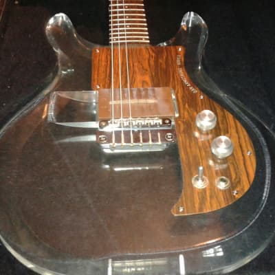 Ampeg Dan Armstrong Lucite Guitar Clear 1970