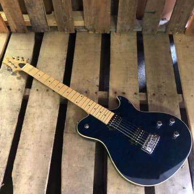 Greg Bennett Fastback Blue for sale