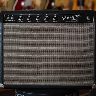 1964 Fender Princeton Amp Blackface AA964 Circuit Vintage Guitar Combo Amp for sale