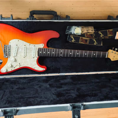 Fender Foto Flame Stratocaster MIJ for sale