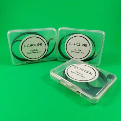 3 X KORG Stage Echo tape loops - SE300 SE500 models loop - tapes