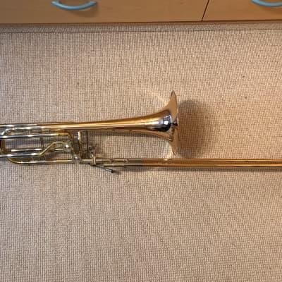 Conn 62H bass trombone made in Elkhart